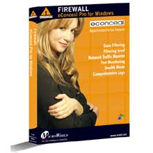 Click here for more info about eConceal Pro for Windows